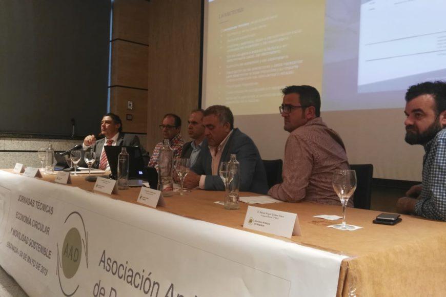 Jornada sobre Economía Circular y Movilidad Sostenible 2019 Granada