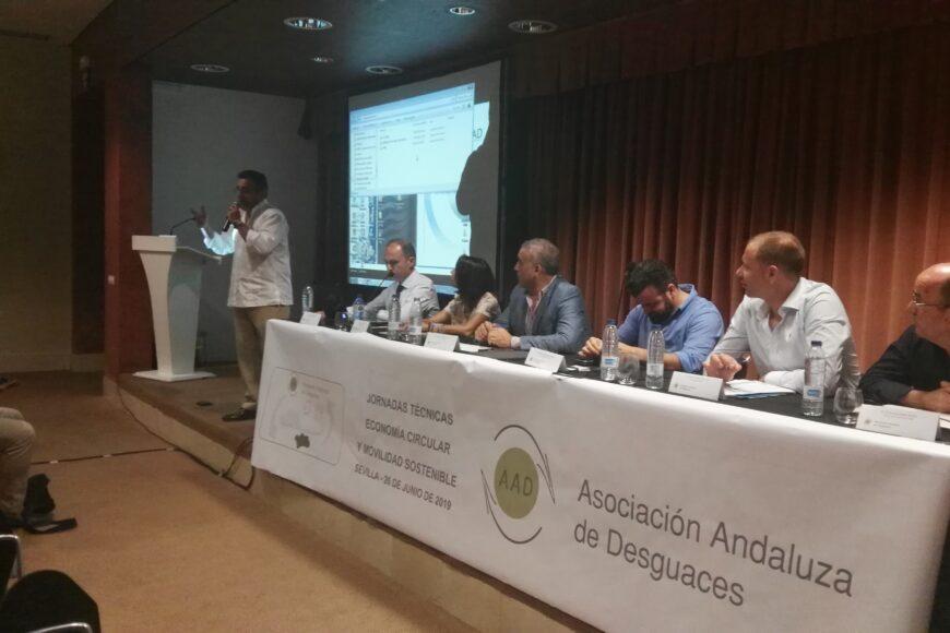 Jornada sobre Economía Circular y Movilidad Sostenible 2019 Sevilla